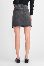 DL1961 Georgia High Rise Skirt Wilder - Back cropped