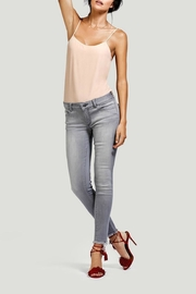 DL1961 Grey Released Hem Skinny - Product Mini Image
