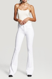 DL1961 Heather Insta Slim Flare Pants - Product Mini Image