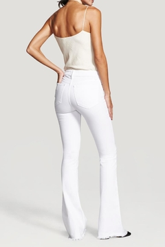 DL1961 Heather Insta Slim Flare Pants - Alternate List Image