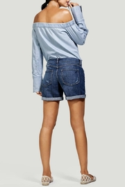 DL1961 Karlie Boyfriend Short - Back cropped