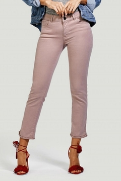 DL1961 Dusty Rose Ankle Straight - Product List Image