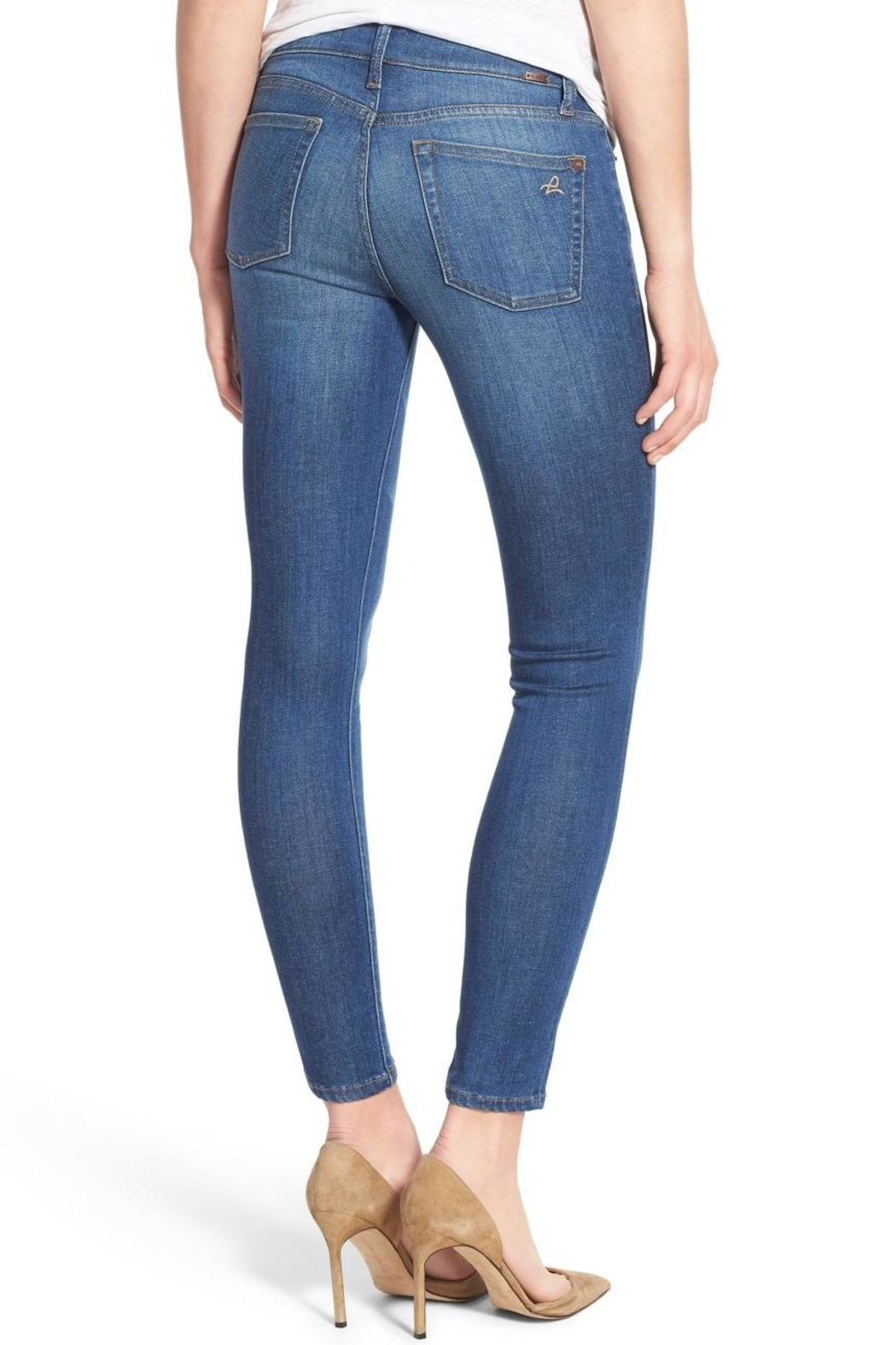 DL1961 Margaux Ankle Skinny Shields - Front Full Image