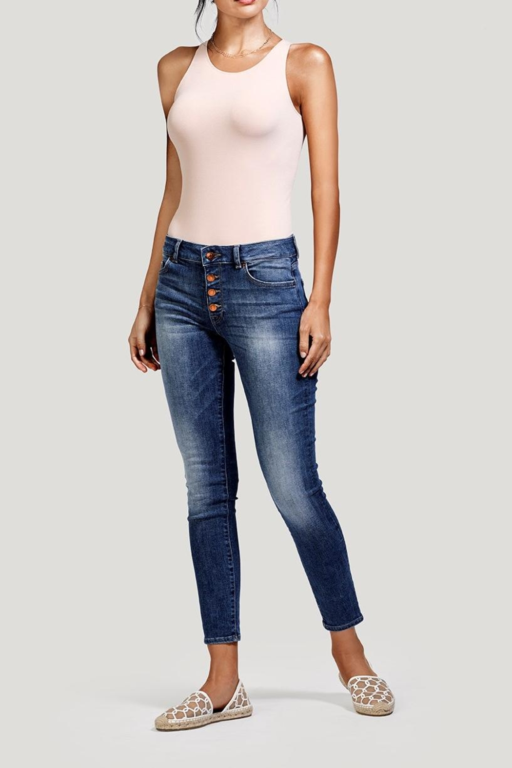 DL1961 Margaux Mini Jeans - Front Cropped Image