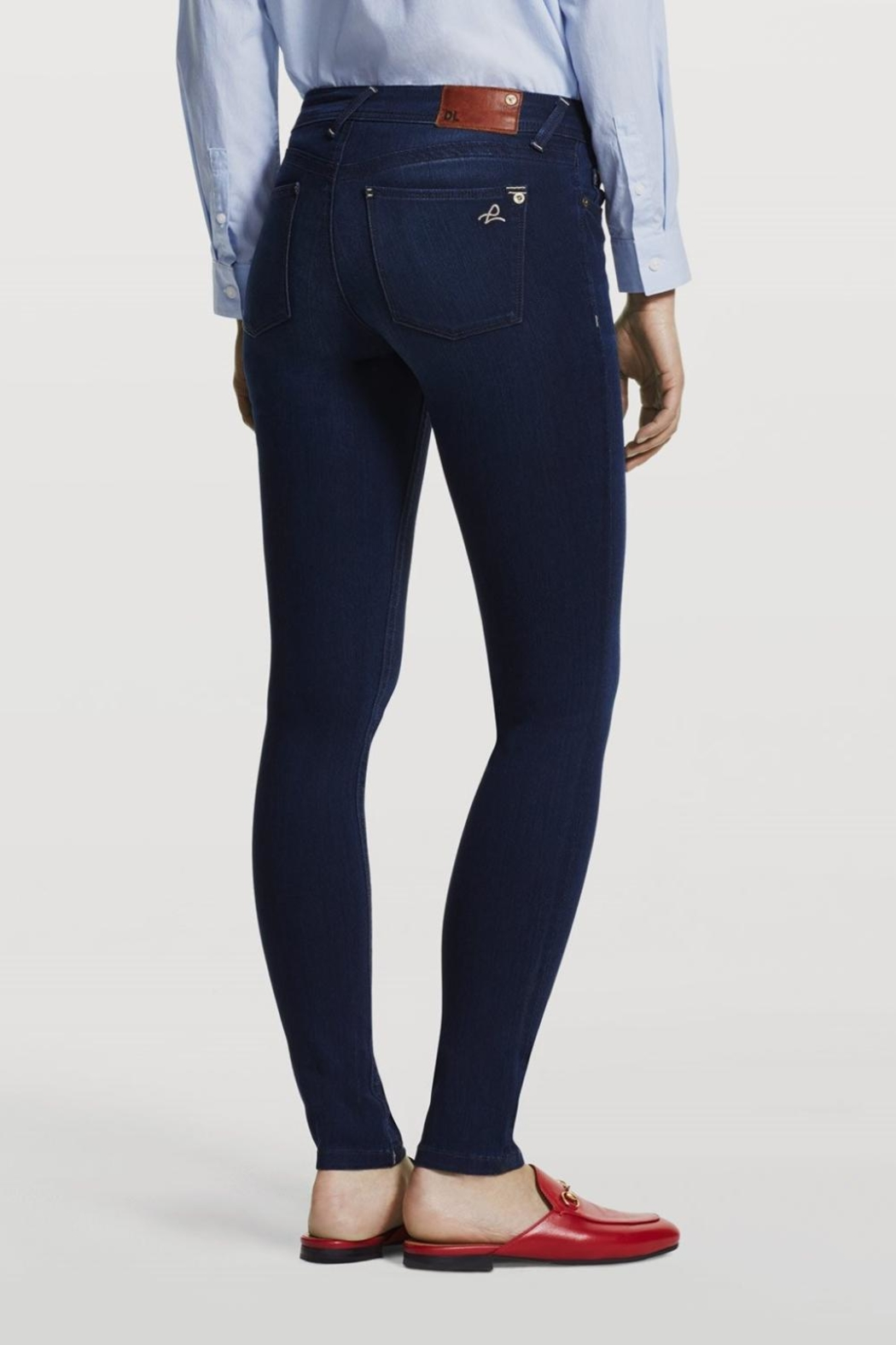 DL1961 Petite Skinny Jeans - Front Full Image