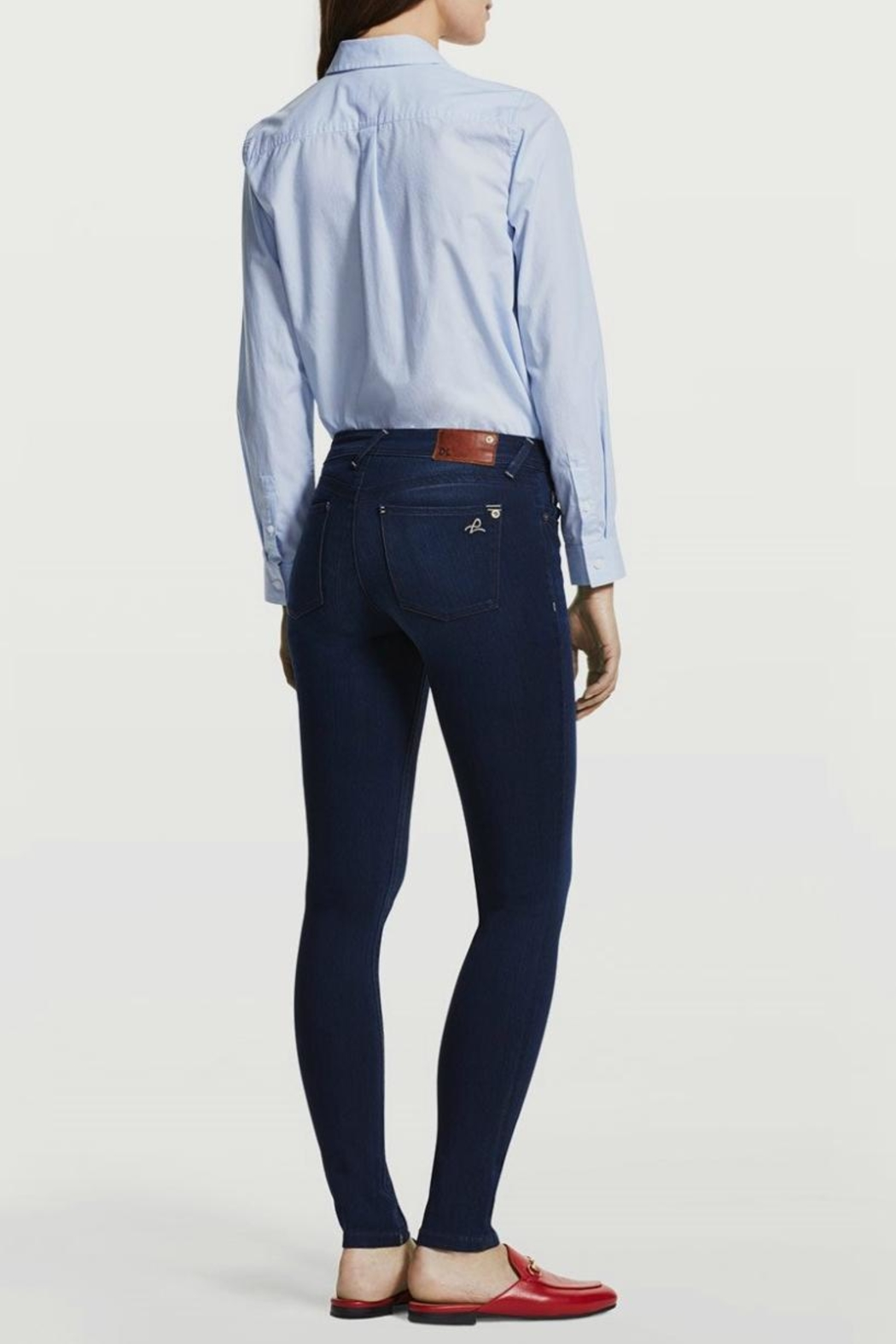 DL1961 Petite Skinny Jeans - Back Cropped Image
