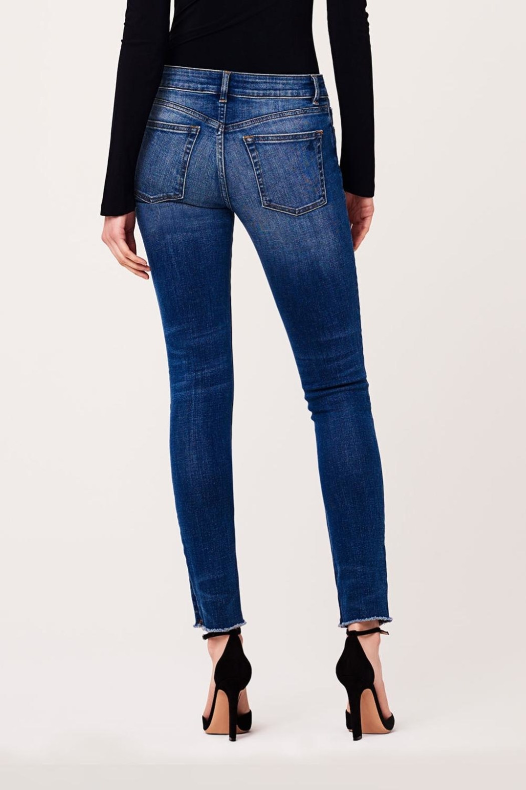 DL1961 Mid Rise Skinny Jeans - Front Full Image