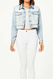 DL1961 Shawn Cropped Boyfriend-Jacket - Product Mini Image