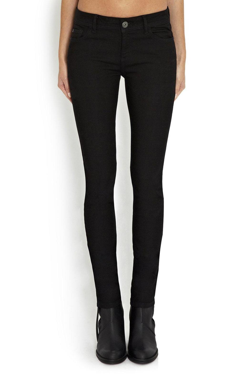 DL 1961 Black Jeans - Front Full Image