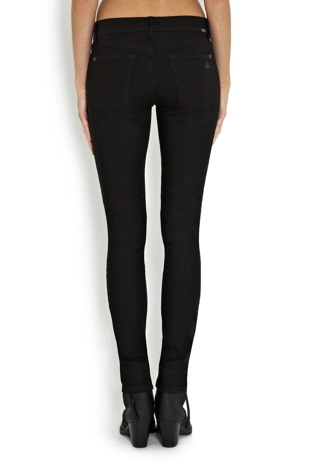 DL 1961 Black Jeans - Side Cropped Image