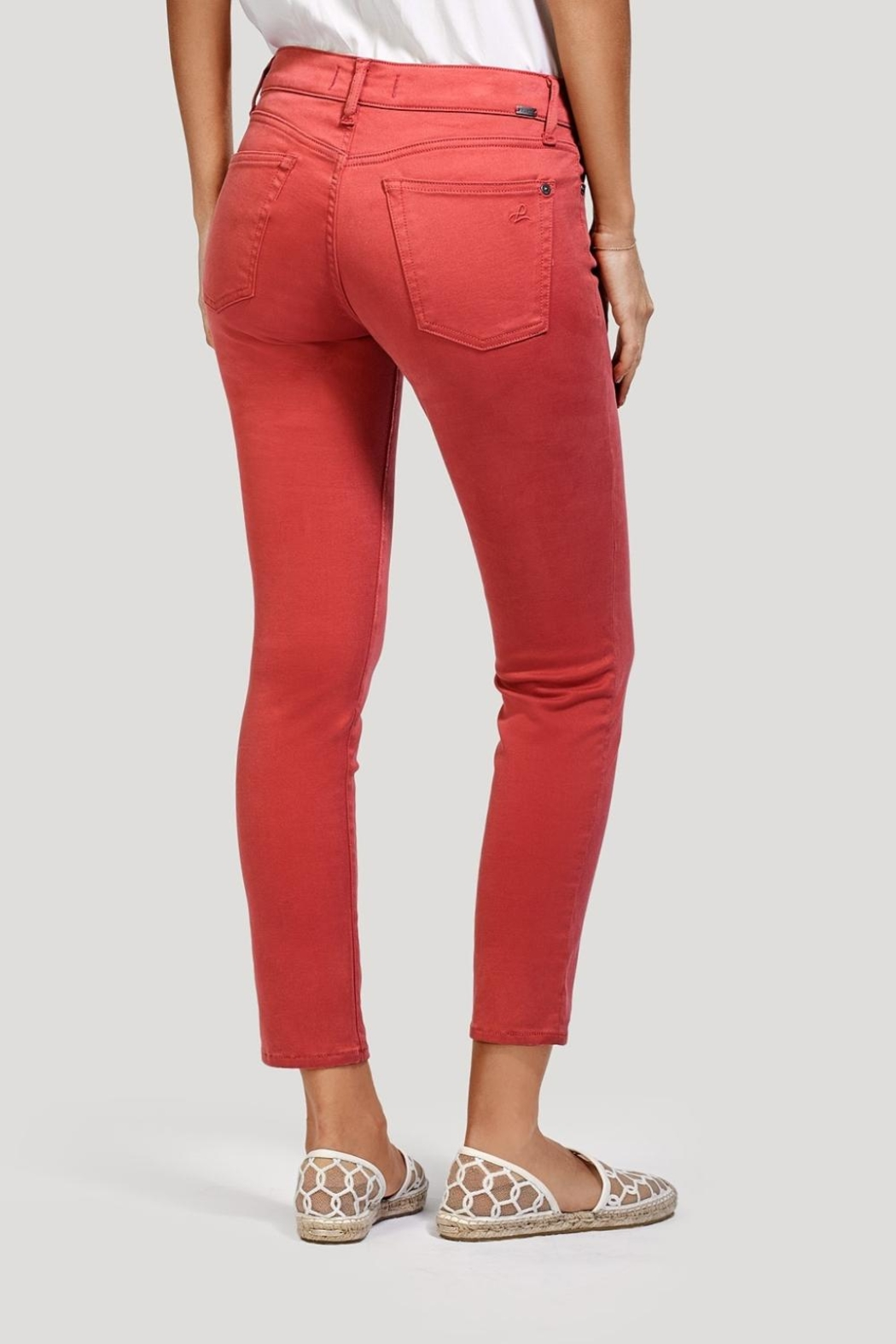 DL 1961 Coral Ankle Skinny Jeans - Front Full Image