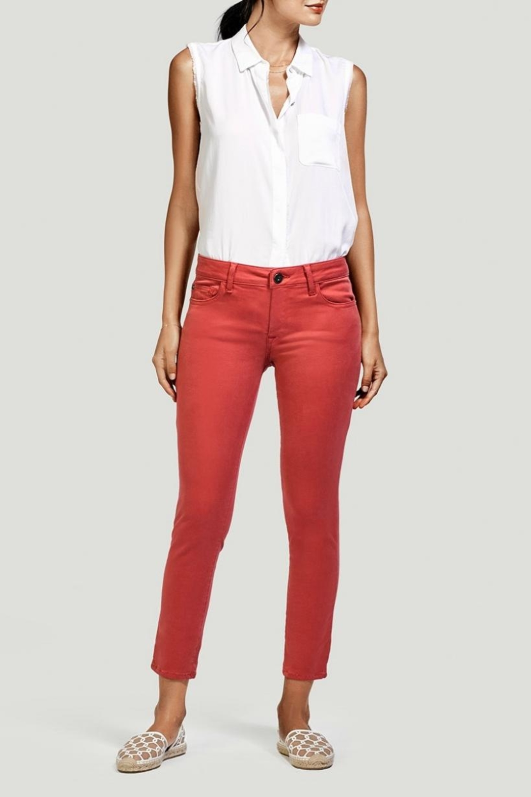 DL 1961 Coral Ankle Skinny Jeans - Side Cropped Image