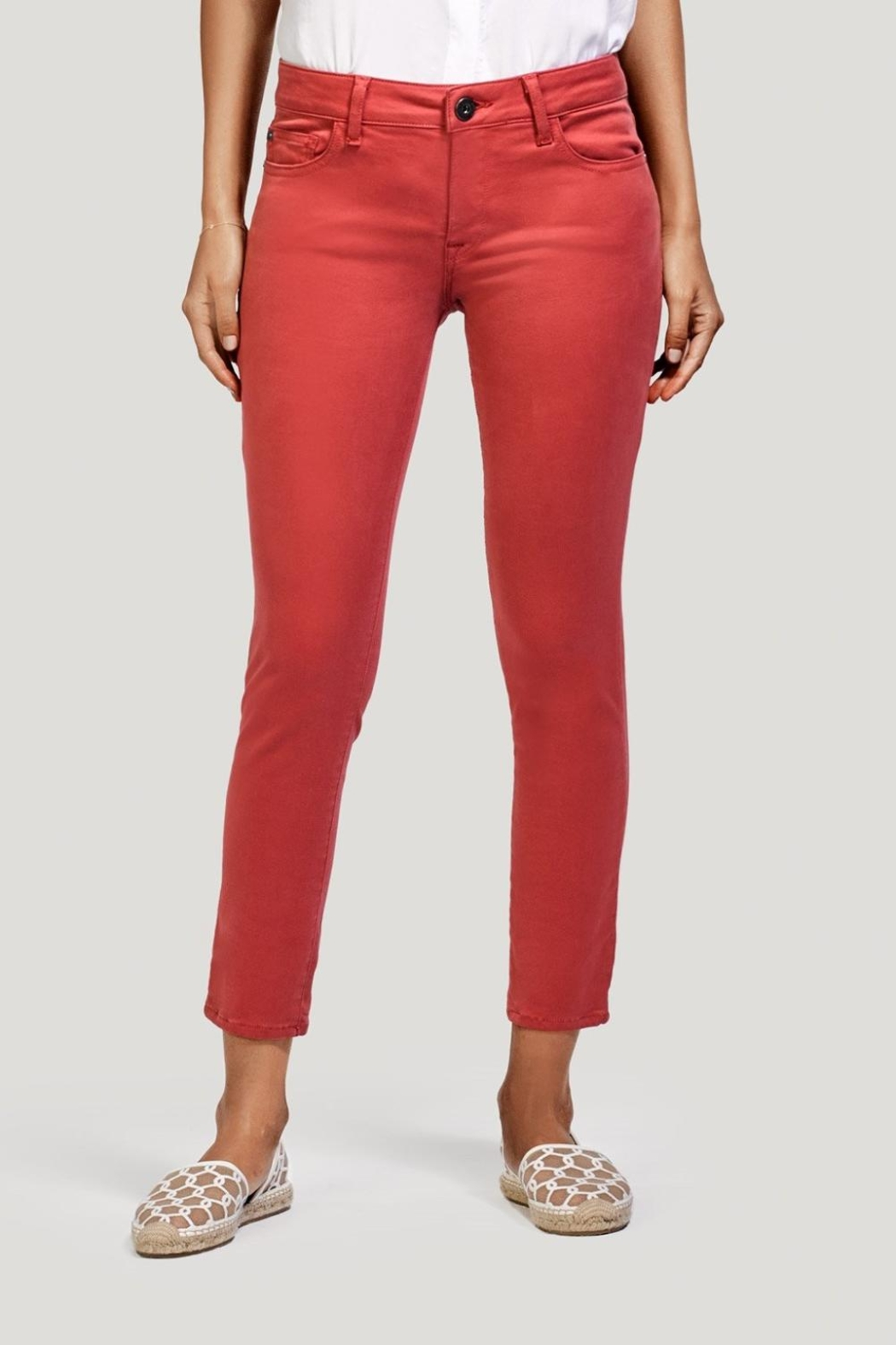 DL 1961 Coral Ankle Skinny Jeans - Main Image