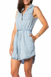 DL 1961 Crosby Broome Denim Dress - Front cropped