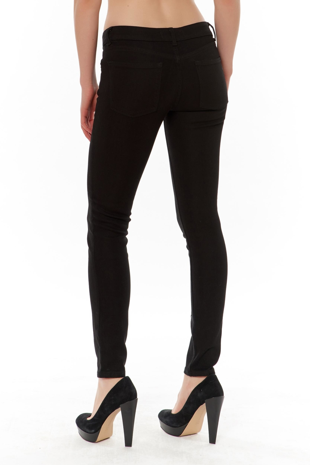 DL 1961 Emma Power Skinny Jeans - Front Full Image