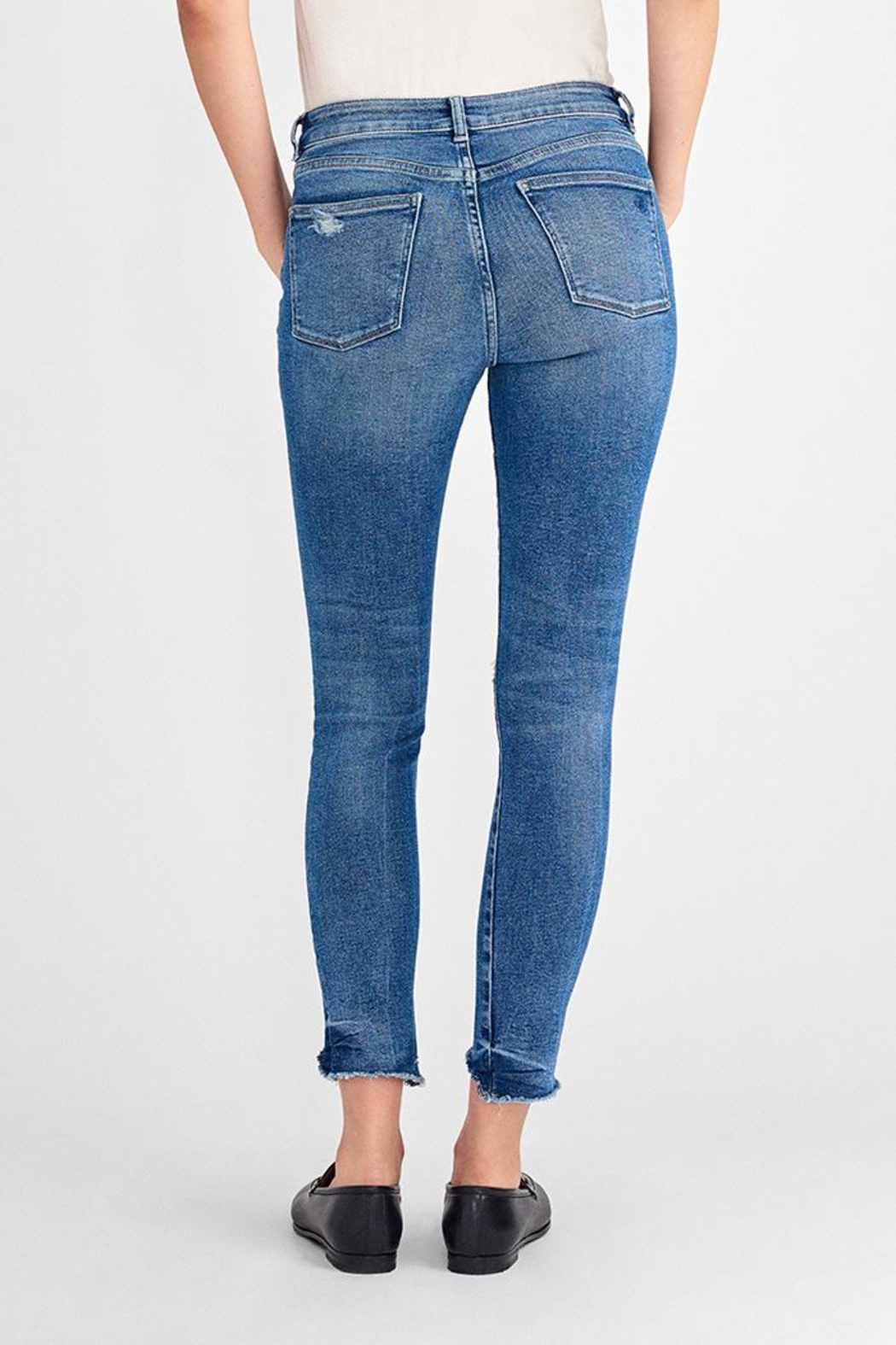 DL 1961 Farrow High-Rise Skinny - Front Full Image