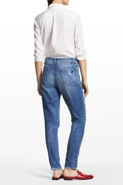 DL 1961 Goldie High Rise Tapered Jeans - Front full body