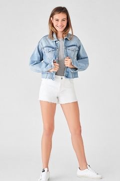DL 1961 Karlie Shorts White - Alternate List Image
