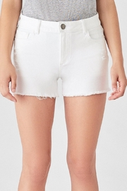 DL 1961 Karlie Shorts White - Product Mini Image