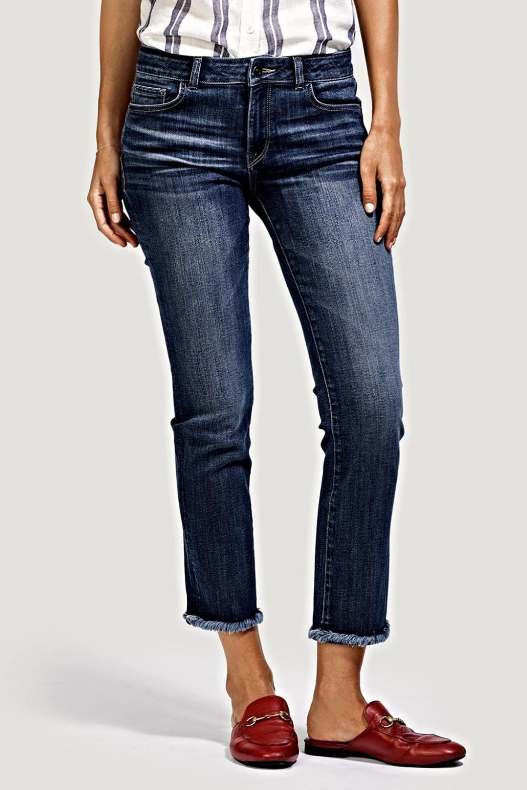 DL 1961 Mara Straight Jeans - Front Full Image