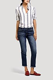 DL 1961 Mara Straight Jeans - Front cropped
