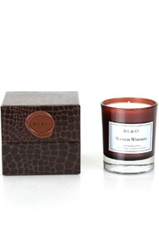 DL And Company Scotch Whiskey Candle - Front cropped