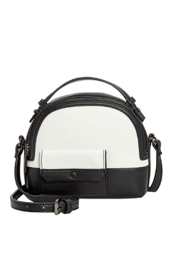 Danielle Nicole Black/white Carson Crossbody - Product List Image