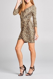 DNA Couture Animal Print Dress - Side cropped
