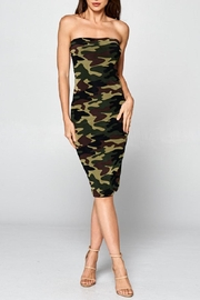 DNA Couture Camo Tube Dress - Product Mini Image