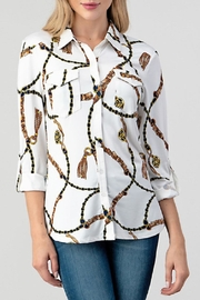 DNA Couture Lulu Extra-Soft Button-Down - Product Mini Image