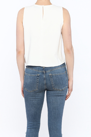 Do & Be Asymmetrical Crop Top - Back cropped