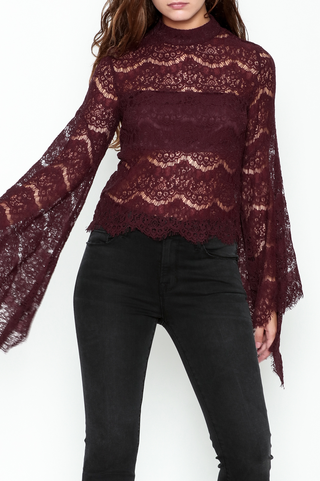 Do & Be Bell Sleeve Top - Main Image