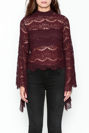 Do & Be Bell Sleeve Top - Front full body