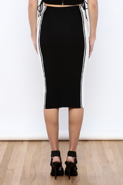 Do & Be Black colorblock Skirt - Back cropped