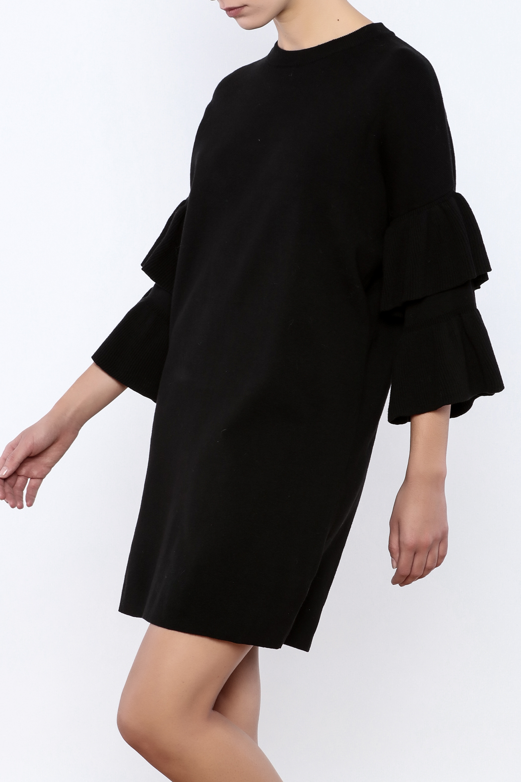 Do & Be Butterfly Sleeve Dress - Main Image