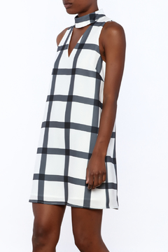 Shoptiques Product: Checkered Mini Dress