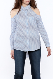 Do & Be Stripe Button-Down Top - Product Mini Image