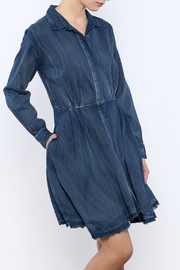 Do & Be Denim Swing Dress - Front cropped