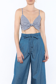 Do & Be Front Tie Crop Top - Product Mini Image