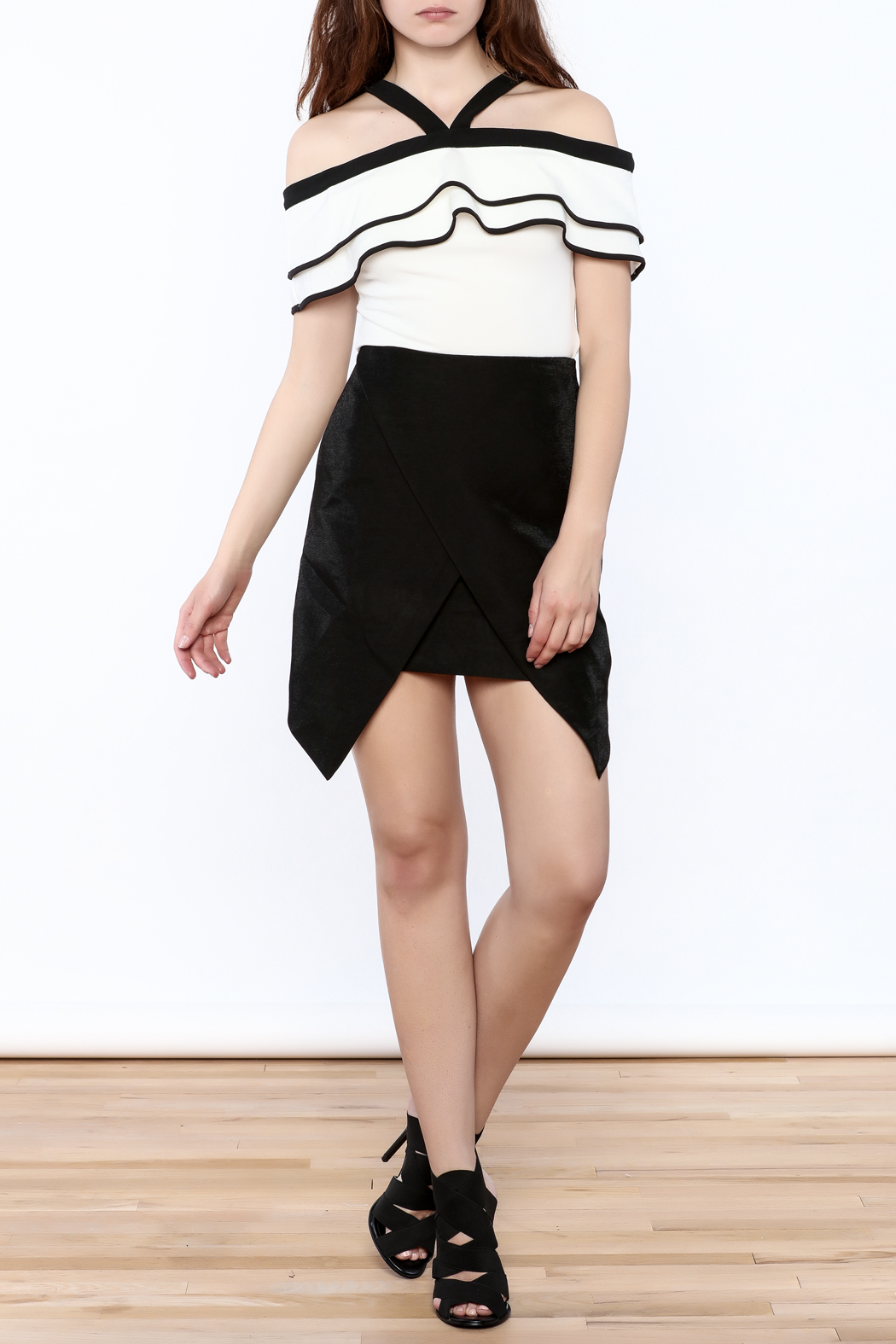 Do & Be Modern Black Skirt - Front Full Image