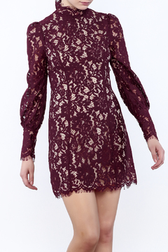 Shoptiques Product: High Neck Lace Dress