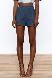 Do & Be High Waist Denim Shorts - Side cropped
