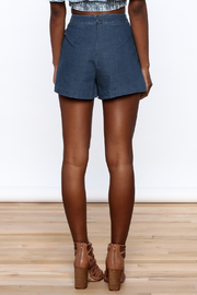Do & Be High Waist Denim Shorts - Back cropped