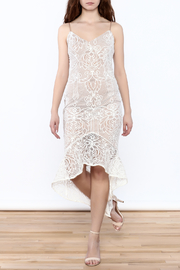 Do & Be Sleeveless Lace Dress - Product Mini Image