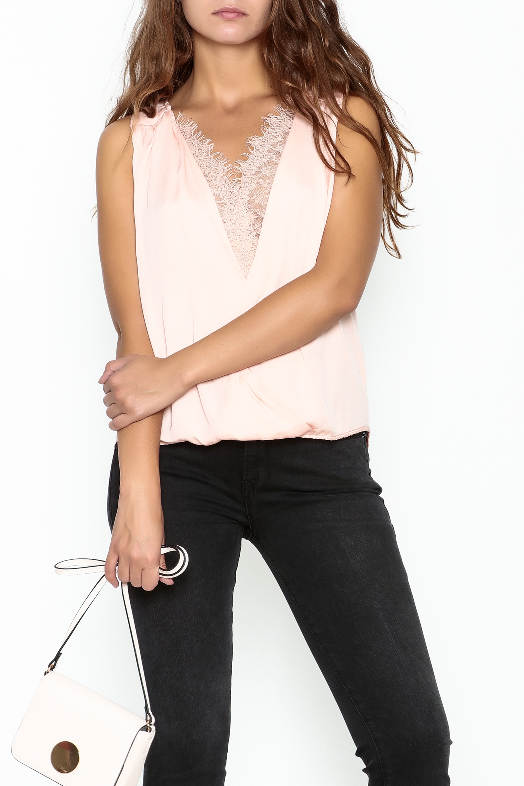 Do & Be Lace Inset Top - Main Image