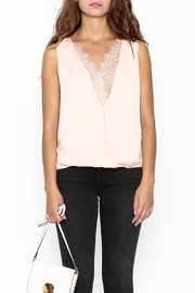 Do & Be Lace Inset Top - Front full body