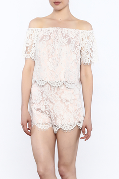 Do & Be White Lace Top - Alternate List Image