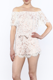 Do & Be White Lace Top - Product Mini Image