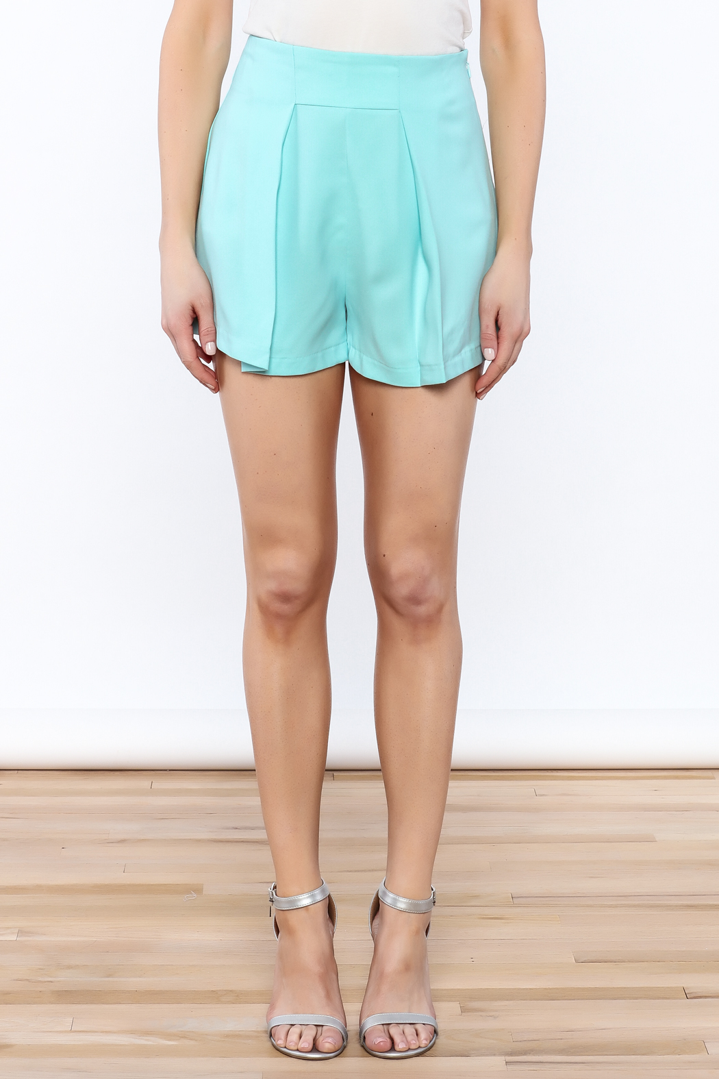 Do & Be Powder Blue Shorts from Manhattan by Dor L'Dor — Shoptiques