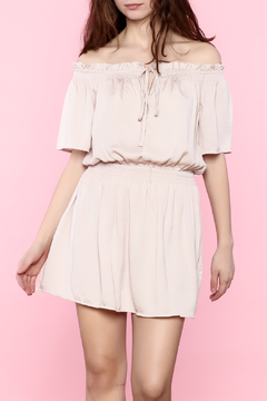 Shoptiques Product: Blush Off Shoulder Dress